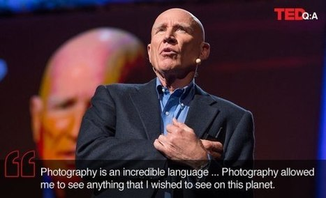 The language of photography: Q&A with Sebastião Salgado | TED ... | Photography | Scoop.it