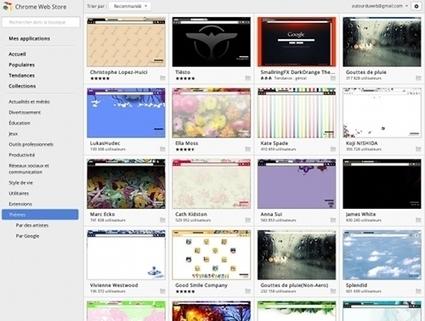 A la recherche de thèmes Google Chrome ? C'est par ici... | Autour du Web | Méli-mélo de Melodie68 | Scoop.it