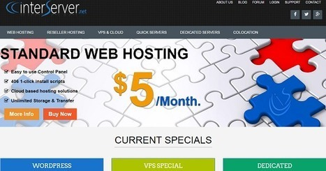 InterServer 1 Cent Coupon Discount with Review for WordPress Hosting | Blogger SEO Tips and Tricks | Scoop.it