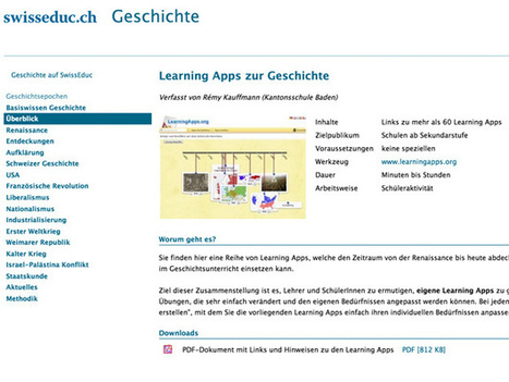 LearningApps.org - interactief en multimediale leermodules | Web20 in de klas | Scoop.it