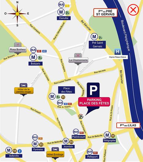 Parking Bastille à Paris reservation en ligne gratuite   Communication et référencement   Scoop.it