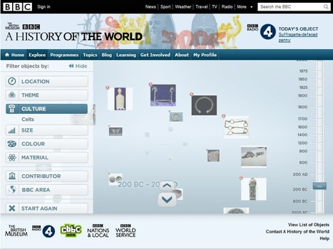 BBC - A History of the World - Explorer | 21st Century Tools for Teaching-People and Learners | Scoop.it
