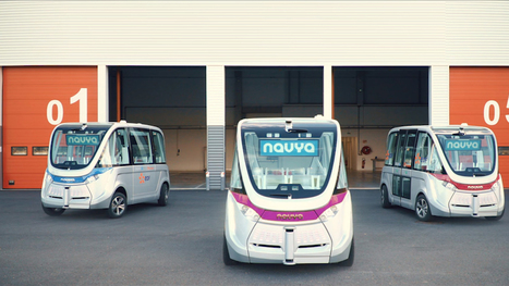 Le bus sans chauffeur de Navya circulera à Lyon dès le 3 septembre | Libertés Numériques | Scoop.it