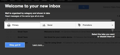 How to Beat Gmail's New Tabbed Inbox by @dayroth #marketing | MarketingHits | Scoop.it