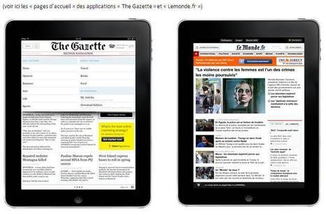 Design et ergonomie des applications Presse sur iPad | Application mobile | Scoop.it