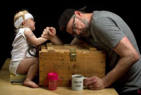 Le papa photographe le plus drôle du monde - Le Baby Blog - Doctissimo | Autour de la puériculture, des parents et leurs bébés | Scoop.it