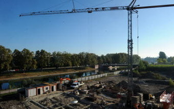 Un tiers de l'écoquartier est sorti de terre | Strasbourg Eurométropole Actu | Scoop.it
