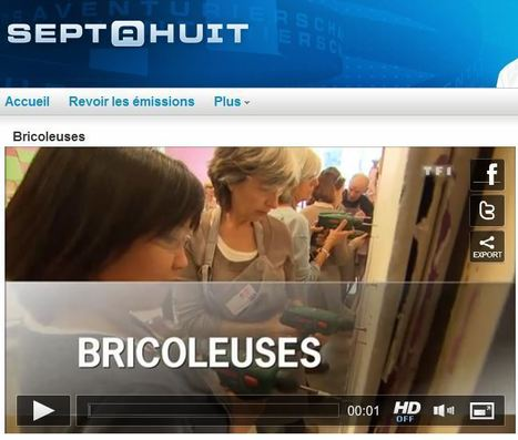 De plus en plus de bricoleuses ! (sur TF1) | Just Do It Yourself | Scoop.it