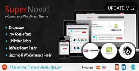 SuperNova - e-Commerce Responsive Theme (eCommerce) Download | eCommerce Templates Download | Scoop.it