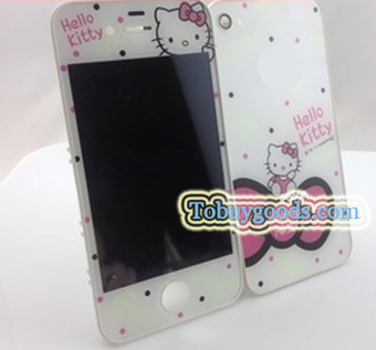 For iPhone 4S Hello Kitty LCD Assembly Repair Parts Housing+Back Cover(4S Only)   here are some good goods form tobuygoods   Scoop.it