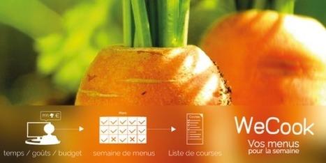 WeCook : [La Start-Up française de la Semaine]   MyDTree - Innovation News   Scoop.it
