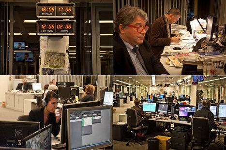 Par prudence, à RTL, le présentateur prend l'escalier... | DocPresseESJ | Scoop.it