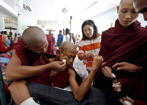 Myanmar Police Used Phosphorus on Protesters, Lawyers Say | Sustain Our Earth | Scoop.it