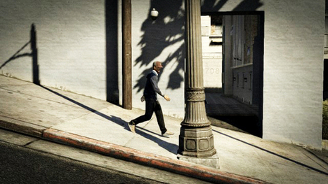 Street Photography V, A Photo Series Shot Entirely in the Video Game 'Grand Theft Auto V' | black & white and street photography | Scoop.it