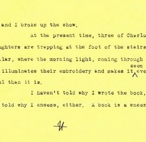"E. B. White explains why he wrote ""Charlotte's Web"" 