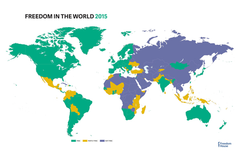 World Freedom Index 2015 | Politically Incorrect | Scoop.it