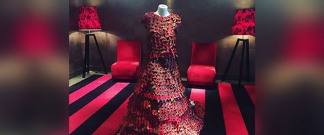 Designer Creates Gorgeous Gown Out of 3,000 Paper Poppy Flowers | Middays with Becky in DC | Scoop.it
