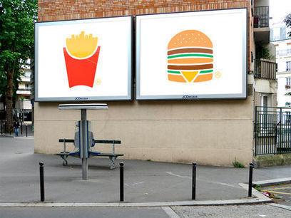 Galerie / McDo : le minimalisme revient dans la pub / étapes: design & culture visuelle   Un monde de pub   Scoop.it