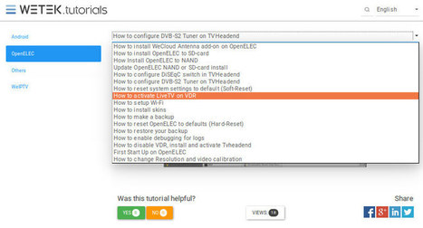 Android TV Box and OpenELEC Video Tutorials | Embedded Systems News | Scoop.it
