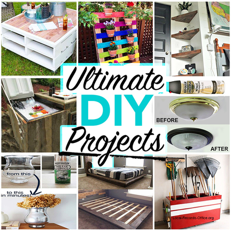 The Ultimate Guide to Home DIY Remodeling Projects Ideas for 2016-17 | Local Records Office | Scoop.it