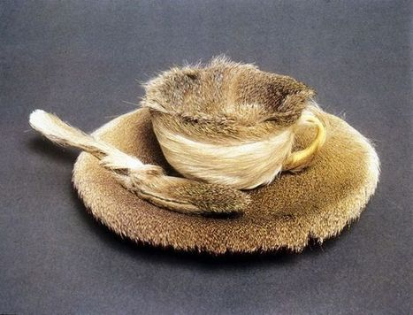 Meret Oppenheim: 'Breakfast in Fur' | Art Installations, Sculpture, Contemporary Art | Scoop.it