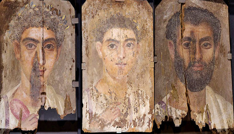Egyptian blue hides in these mummy portraits - Futurity | Research_topic | Scoop.it