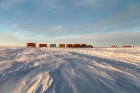 Raid sur l'Antarctique - à 17H sur France Inter | Hurtigruten Arctique Antarctique | Scoop.it