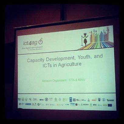 Twitter / CGIAR: the capacity development, youth ... | ICT4Ag  2013 the digital springboard for inclusive agriculture | Scoop.it