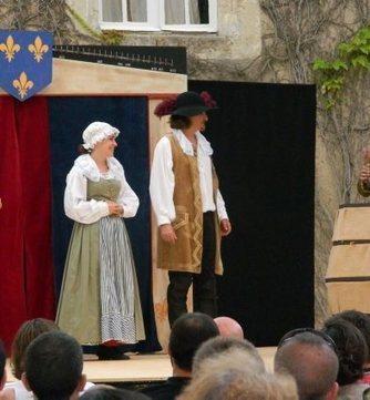 Théâtre au château Monluc   Les prestataires à la une !   Scoop.it