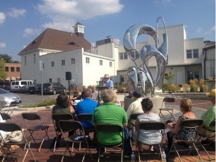 Volunteer Plaza, 'reflections' sculpture dedicated in St. Charles - Kane County Chronicle   Historia del Arte. Art History   Scoop.it