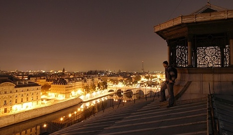 A night on the Paris rooftops | mylittleparis | Modern Ruins, Decay and Urban Exploration | Scoop.it