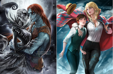 Digital Artist Switches The Genders Of Popular Cartoon Characters | Design Inspiration and Creative Ideas | Scoop.it