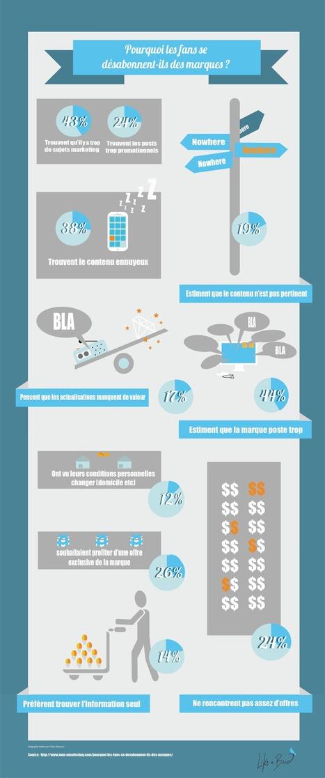 [Infographie] Pourquoi les fans se désabonnent-ils des marques sur Facebook ? | Web information Specialist | Scoop.it