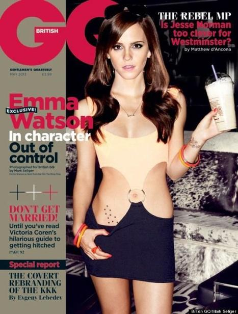 Emma Watson GQ Cover: Actress Channels 'Pretty Woman' In Sexy Shoot - Sexy Balla | News Daily About Sexy Balla | Scoop.it
