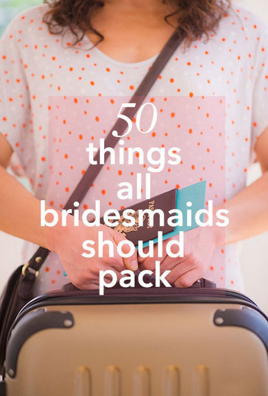 Bridesmaids Wedding Packing List | Tips for brides | Scoop.it