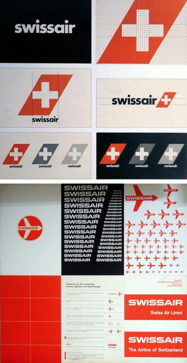 The Evolution of the Swissair Logo   AisleOne   Design Studies   Scoop.it
