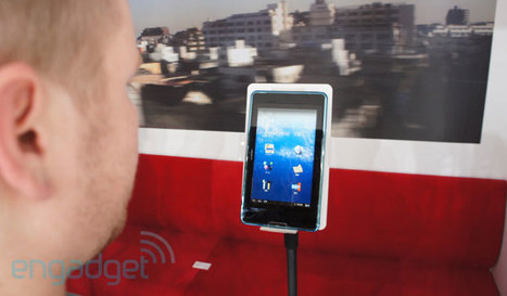 NTT DoCoMo's i beam tablet prototype is driven by your eyes | 21st Century Craft & Pride | Scoop.it