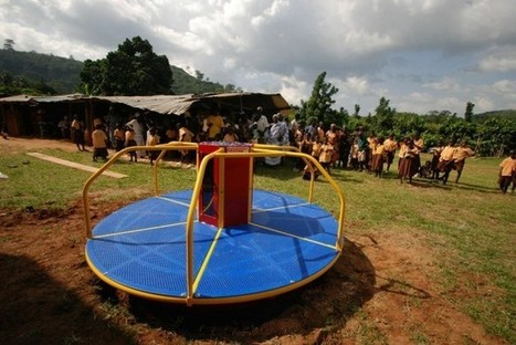 Playgrounds Transform Children's Energy Into Harvestable Electricity - PSFK | Development | Scoop.it