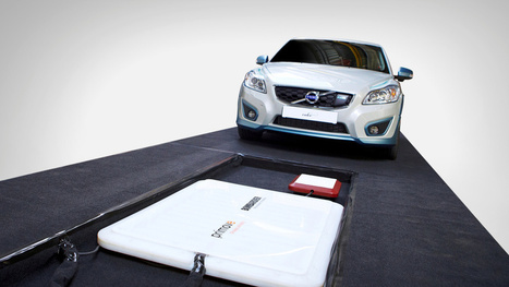 Volvo Attempts Wireless Charging Of Electric Cars   Future of electric cars   Scoop.it