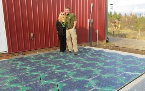 This Couple Is Making Roads Out Of Solar Panels, And They Actually Work | News, Innovative Idea & energy | Scoop.it