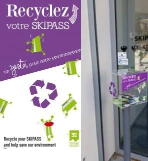 RECYCLER SON SKIPASS SERRE CHEVALIER | Destination Briançon Serre Chevalier Vallée | Scoop.it