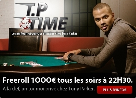 """Tony Parker Time"": Ca vous dit un petit trip poker et basket à San Antonio ? 