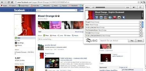 Facebook Gets Music Via Chrome Plugin | Radio 2.0 (En & Fr) | Scoop.it