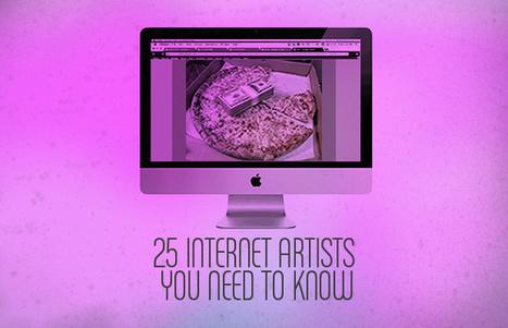 25 Internet Artists You Need to Know | Arts visuels: questions & pratiques d'aujourd'hui | Scoop.it