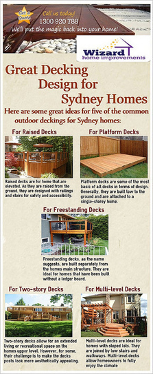 Great Decking Design Ideas for Sydney Homes | Wizard Home Improvements | Scoop.it