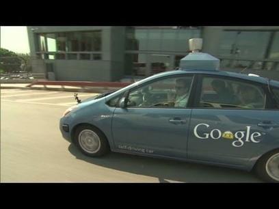 "CNN test-drives Googles ""self-driving car"" - YouTube   Self-Driving Car   Scoop.it"