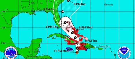 Hurricane Matthew-Humanitarian Mapping | Geography Education | Scoop.it