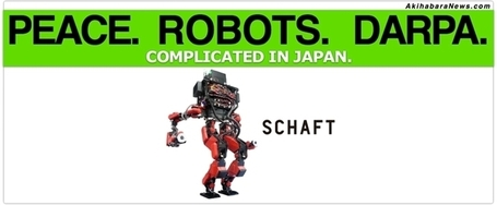 Japanese Robots: On DARPA, SCHAFT, and the Peace Constitution (and bad reporting) « Akihabara News | AI, NBI, Robotics & Cybernetics & Android Stuff | Scoop.it