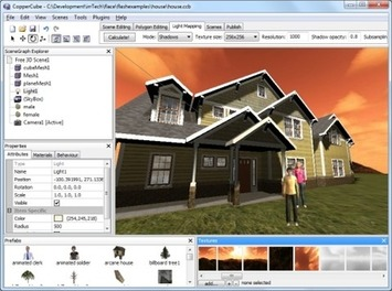 CopperCube - a 3D editor for Flash Stage3D and WebGL, Mac OS X and Windows | Machinimania | Scoop.it