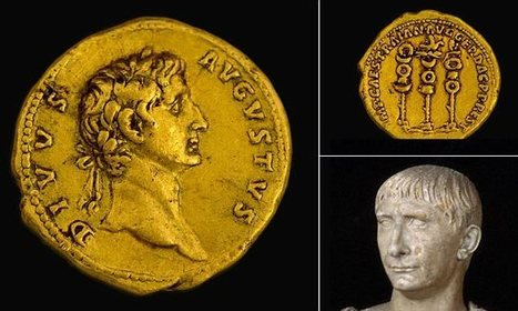 Rare Roman coin from the rule of Trajan bears bust of Augustus | Villas romanas | Scoop.it